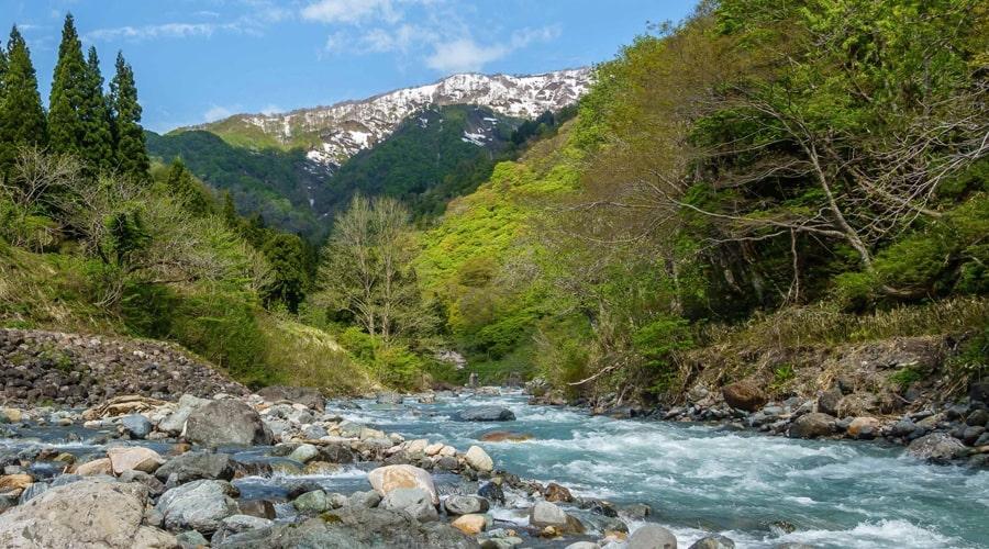 糸魚川の景色