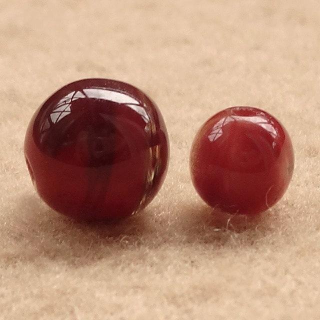 高品質・赤褐色のチベット産アンデシン