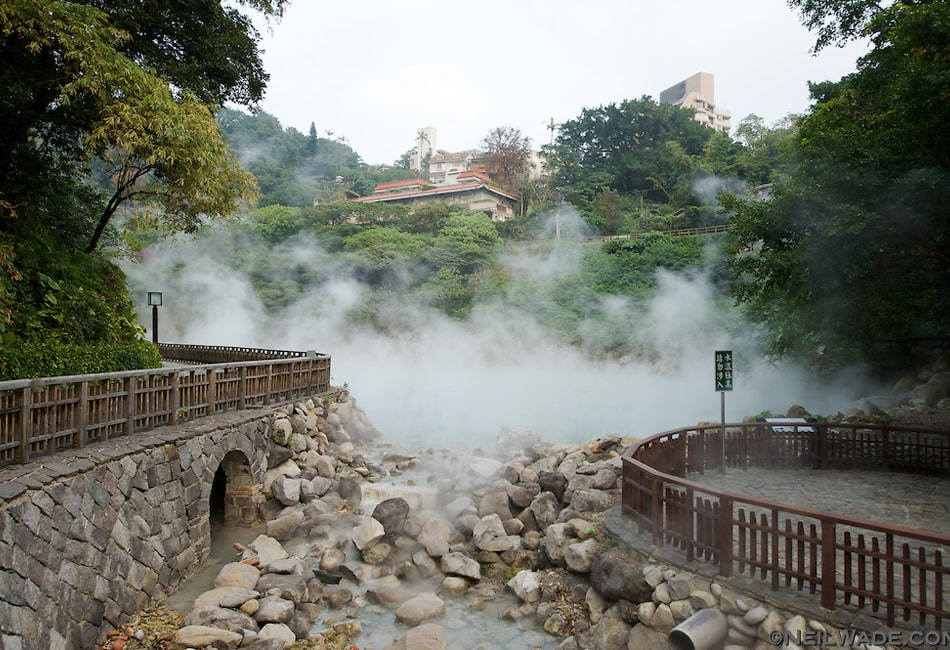 台湾の北投温泉
