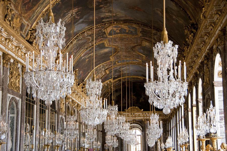 ヴェルサイユ宮殿のシャンデリア