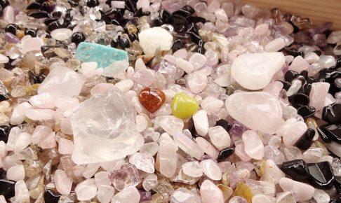 さざれ石(浄化アイテム)を混ぜてもいいの?